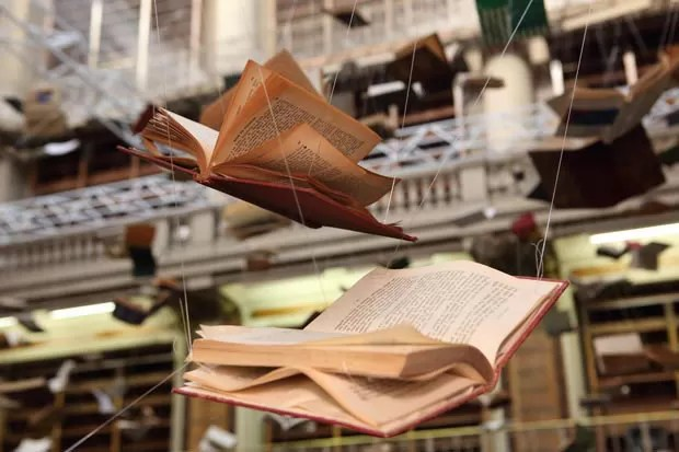 Flying Books (Foto: Cortesia Universidad Nacional de Tres de Febrero / Muntref)