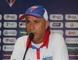 Luiz Carlos Martins, técnico do Fortaleza (Foto: Site Oficial do Fortaleza)