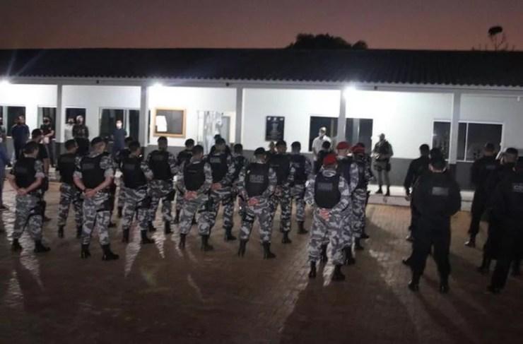 Operação do MP e PM cumpre mais de 15 mandados contra grupo criminoso em Rio Branco — Foto: Divulgação/MP-AC