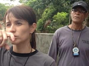 Delegada Ellen Souto: 'Não desistiremos enquanto houver informações sobre o paradeiro' (Foto: Gabriel Barreira/G1)
