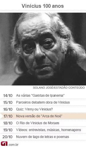 Calendário Vinicius de Moraes - dia 17 (Foto: Arte/G1)