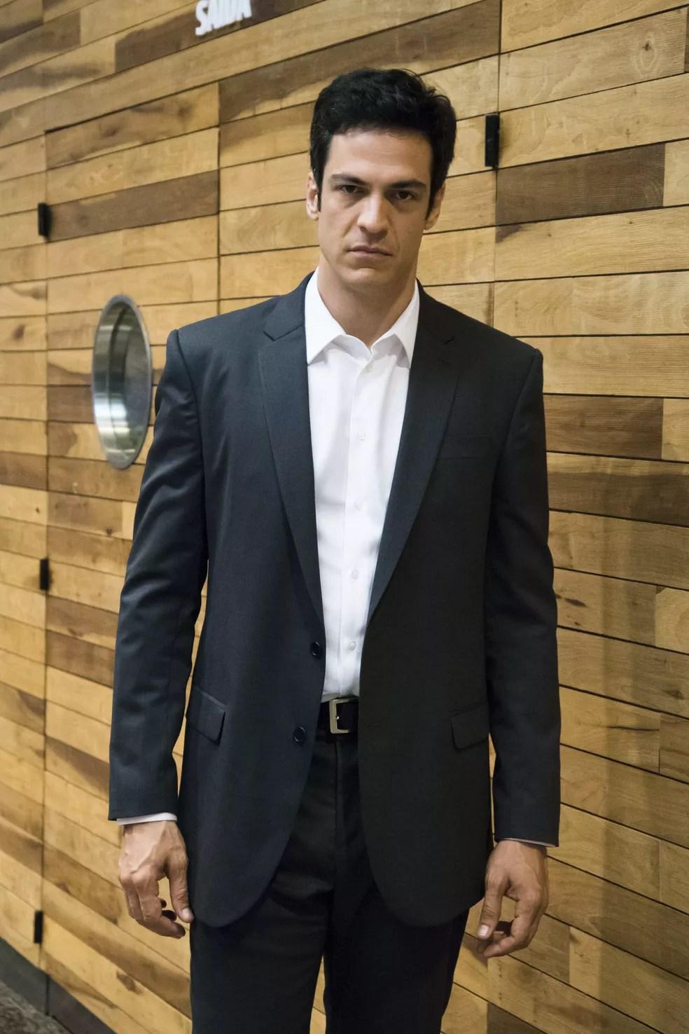 Mateus Solano será o empresário Eric em Pega Pega (Foto: César Alves/TV Globo)