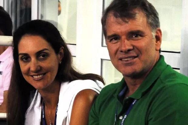 Fernanda Venturini e Bernardinho (Foto: Reprodução/Instagram)