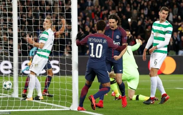Neymar e Cavani dividem a artilharia do PSG na Champions, com seis gols cada (Foto: REUTERS / Charles Platiau)