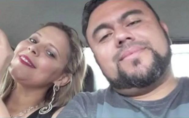 Marido da cantora também morreu no acidente. (Foto: Reprodução/TV Sergipe)