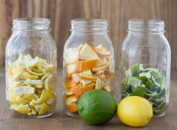 As cascas das frutas cítricas são ricas em óleos essenciais, muito utilizados na aroma terapia (Foto: Brendid/ Reprodução)