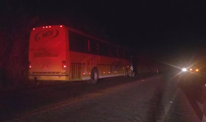 Menina de 12 anos morreu após ser atropelada por ônibus em Itabela — Foto: Reprodução/Site Giro de Notícias