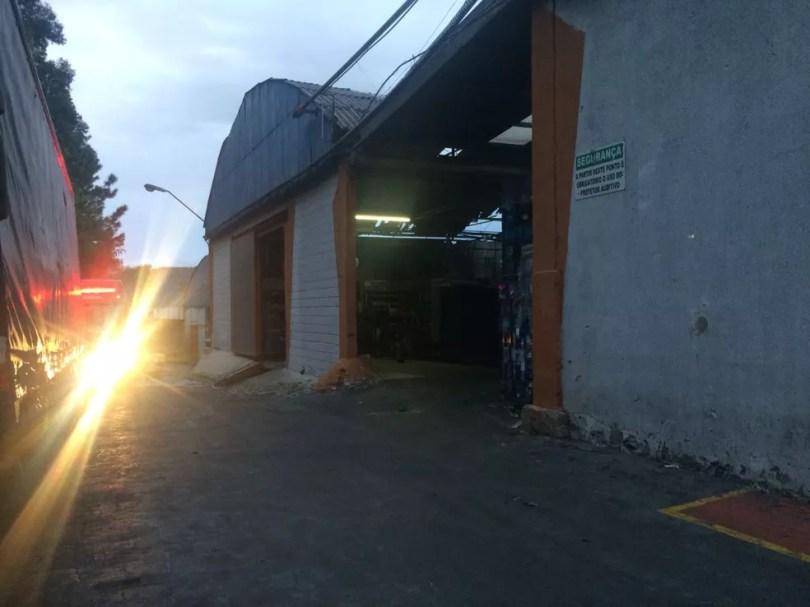 Empresa em Itu tem galpão interditado após incêndio durante a madrugada (Foto: Arquivo Pessoal)