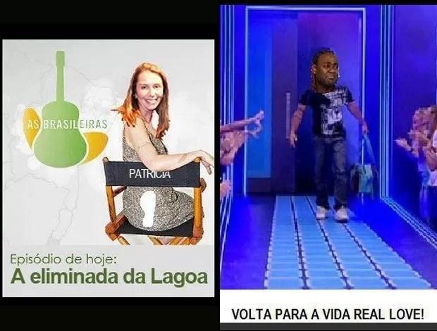 Flamengo montagens Internet (Foto: Reprodução)