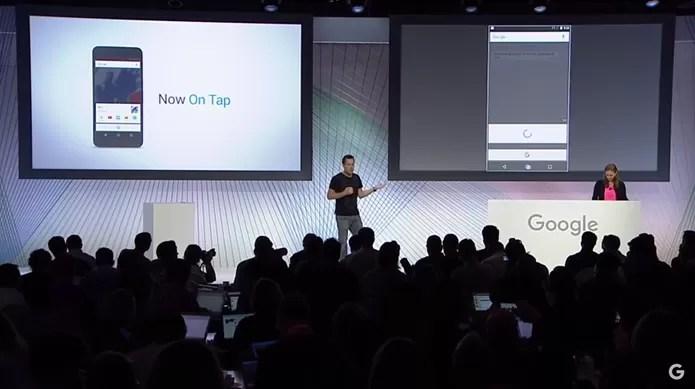 Dave Burke, do Google, mostra as novidades do Android 6.0 (Foto: Reprodução/YouTube)