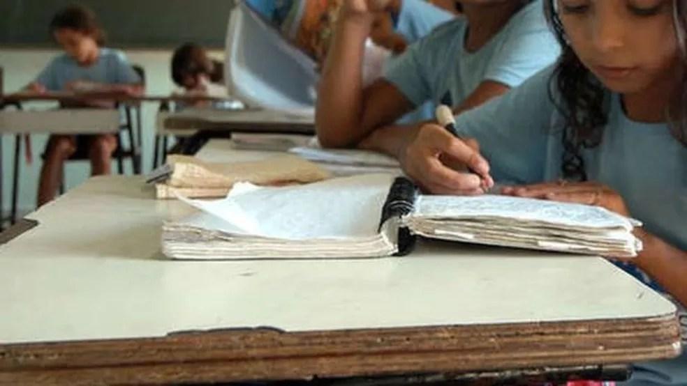 Piauí tem um dos mais altos índices de analfabetismo no país — Foto: João Bittar / Central de Mídia do MEC