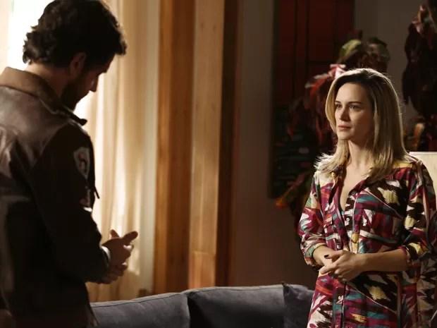 Vitória faz pedido especial para Rafael. O que será? (Foto: Fábio Rocha/TV Globo)
