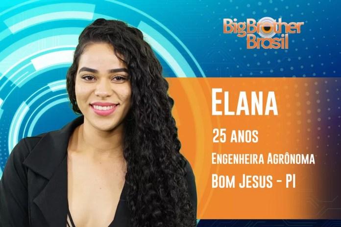 Elana, participante do 'BBB19' — Foto: Divulgação