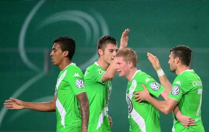 Luiz Gustavo Wolfsburg Copa da Alemanha (Foto: EFE)