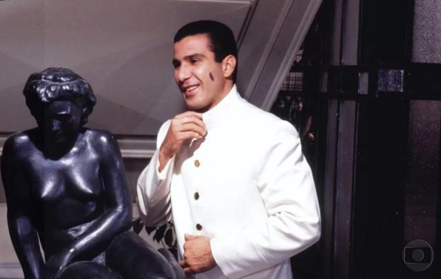 """O personagem Giácomo Madureira encantou o público em """"Sonho Meu"""", no ano de 1993 (Foto: Acervo TV Globo)"""