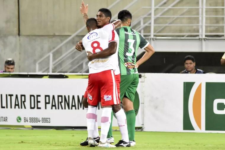 Max é o artilheiro do América-RN na Série D, com cinco gols — Foto: Pedro Vitorino