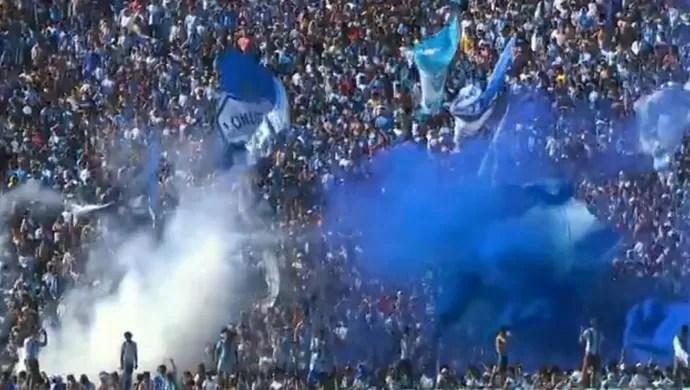 Torcida do Londrina no Estádio do Café (Foto: Reprodução/RPC TV)