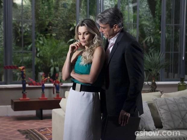 Thomaz diz que Heloísa precisa ser sincera (Foto: Inácio Moraes/TV Globo)