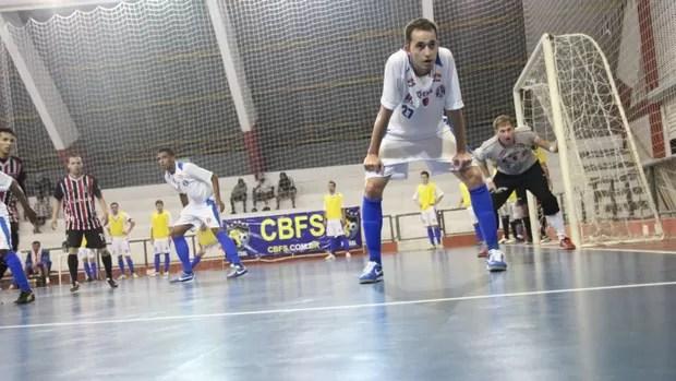 Suzano/São Paulo x Araçariguama Liga Paulista de Futsal (Foto: Thiago Fidelix)