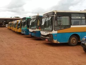 ônibus escolar cacoal (Foto: Site Rolnews/Reprodução)