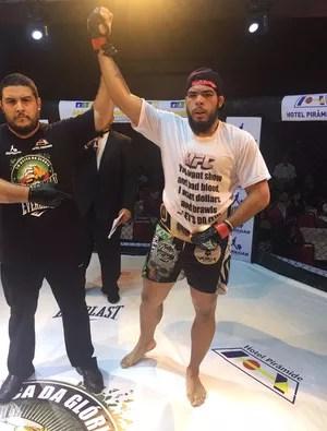 Carlos Boi, MMA (Foto: Divulgação)