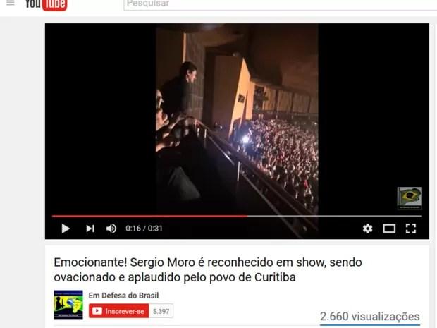 moro show - VEJA VÍDEO: Sérgio Moro é ovacionado por plateia durante show da banda Capital Inicial