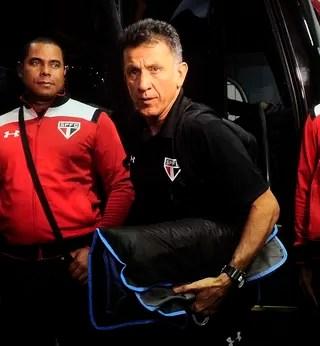 Juan Carlos Osorio São Paulo x Internacional (Foto: Marcos Ribolli)