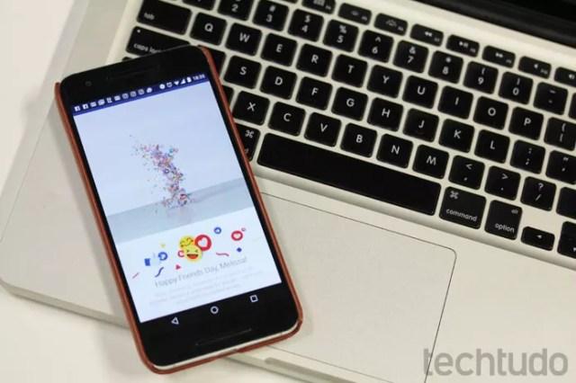 Espere até o seu vídeo ficar pronto; a rede social vai enviar uma notificação (Foto: Melissa Cruz / TechTudo)