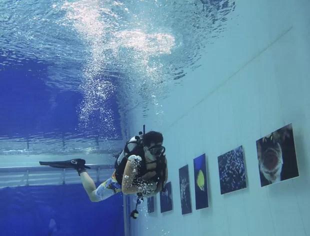 Objetivo era proporcionar experiência de visualização não convencional para os visitantes (Foto: Kim Kyung-hoon/Reuters)