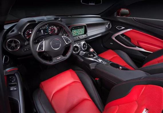Novo Camaro 2016 - interior