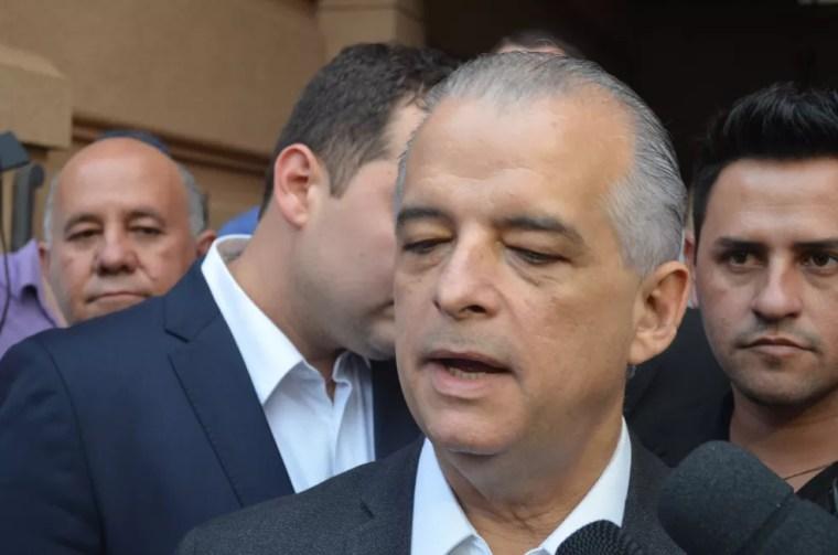 O governador de São Paulo, Márcio França (PSB) (Foto: Rodolfo Tiengo/G1)