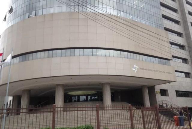 Segurança será reforçada no prédio do TRF-4, em Porto Alegre (Foto: Rafaella Fraga/G1)
