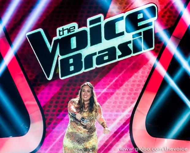 Vivian Lemos interpreta sucesso da cantora Amy Winehouse (Foto: Isabella Pinheiro/TV Globo)