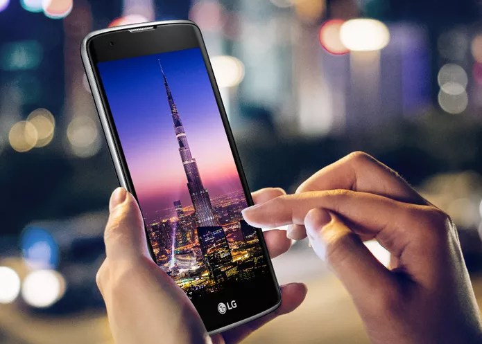 LG K8 é projetado com tela de 5 polegadas em HD (Foto: Divulgação/LG)