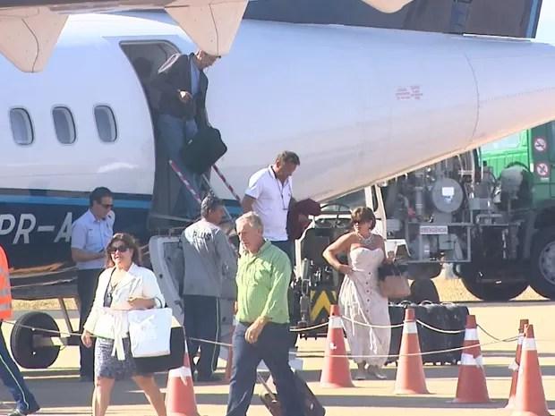 Número de pousos e decolagens caiu 16% no primeiro trimestre em Ribeirão Preto (Foto: Reprodução/EPTV)