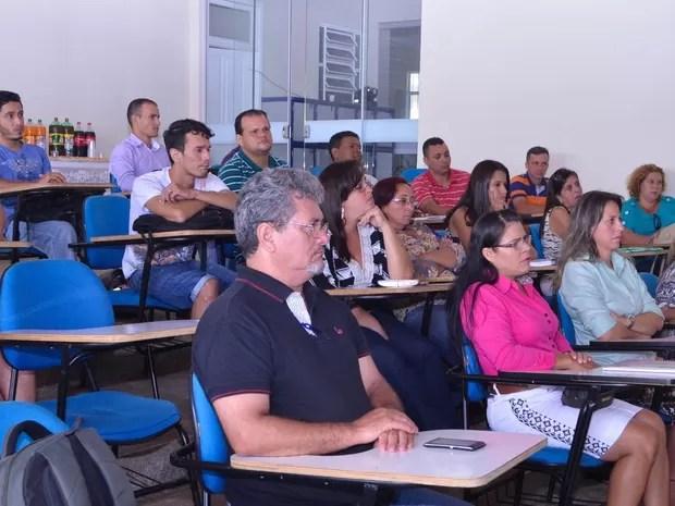 O curso tem como um dos objetivos melhorar a qualidade dos serviços prestados pelos aeroportos do Estado. (Foto: Pâmela Fernandes)