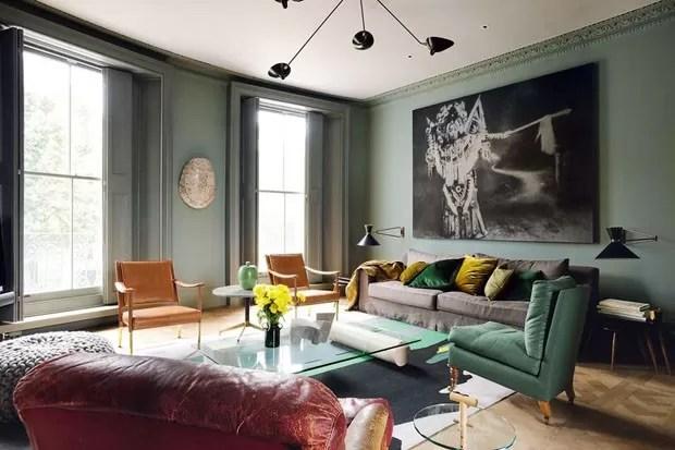 Top 15 Salas Verdes Decoradas Casa Vogue Ambientes