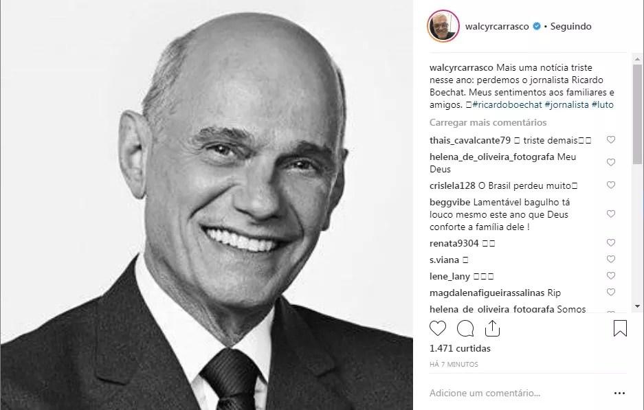 Walcyr Carrasco (Foto: Reprodução Instagram)