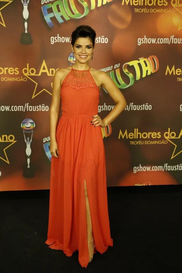 Vanessa Giácomo no Prêmio Melhores do Ano (Foto: Felipe Assumpção e Leo Marinho / AgNews)
