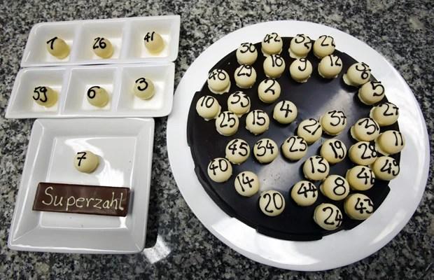 Método 'saboroso' de sorteio foi apresentado pela sociedade de loteria, Sweet Amado