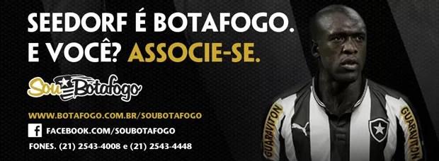 Seedorf Facebook Botafogo (Foto: Reprodução / Facebook)