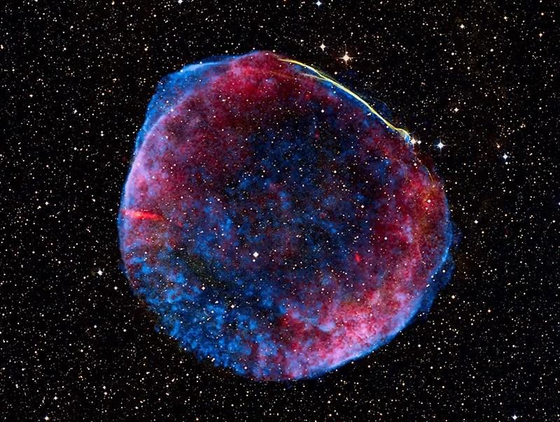 O que sobrou da Supernova SN1006C (FOTO: NASA)