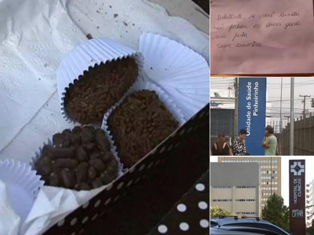 Doceira enviou bombons para a casa da família da adolescente em 2012 (Foto: Reprodução/ RPC)
