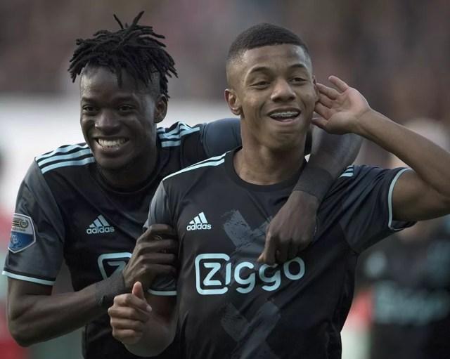 David Neres vem se destacando pelo Ajax, da Holanda (Foto: Divulgação/Ajax)