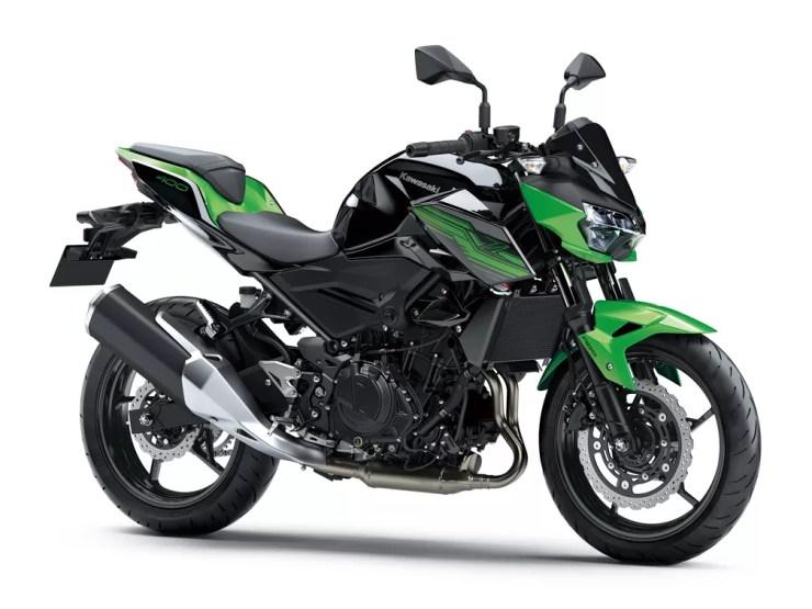 Kawasaki Z400 — Foto: Kawasaki/Divulgação