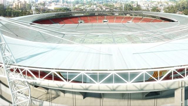 projeto de cobertura do Morumbi (Foto: Divulgação / São Paulo FC)
