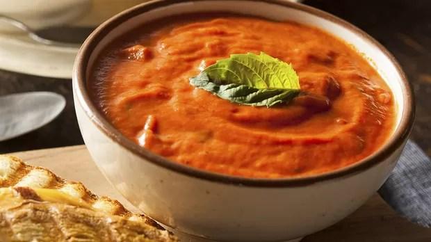 Resultado de imagem para sopa de tomate com manjericão light