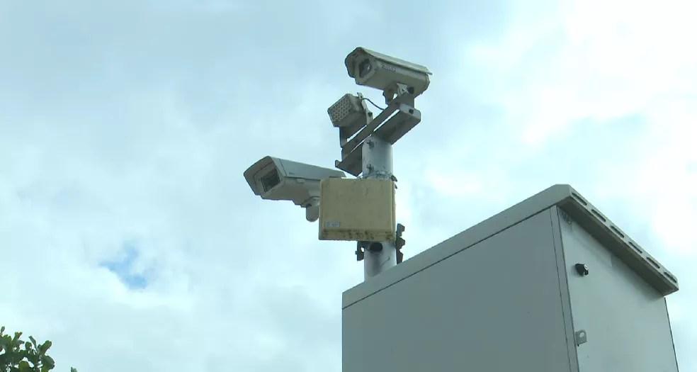 Segurança Pública vai instalar mais 20 câmeras de segurança em Rio Branco e no interior  — Foto: Reprodução/Rede Amazônica Acre