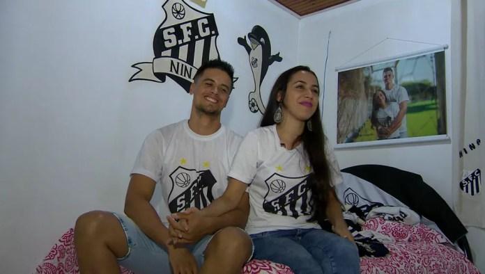 Há cinco anos, Santos colabora com a união do casal (Foto: TV Fronteira / Reprodução)