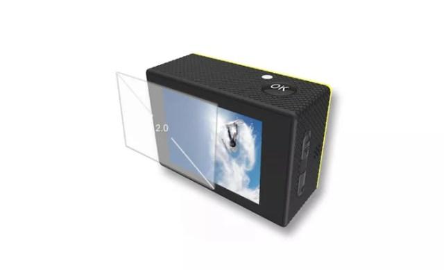 Câmera tem display de 2 polegadas e bateria que aguenta mais de 1 hora (Foto: Divulgação/SJCAM)